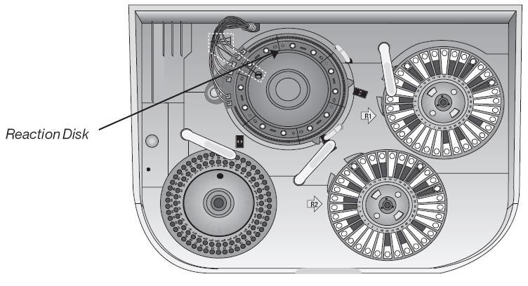 دستگاه هیتاچی 912  دیسک واکنش